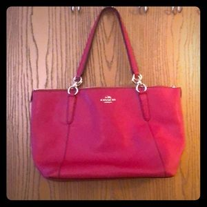 Coach hot pink purse